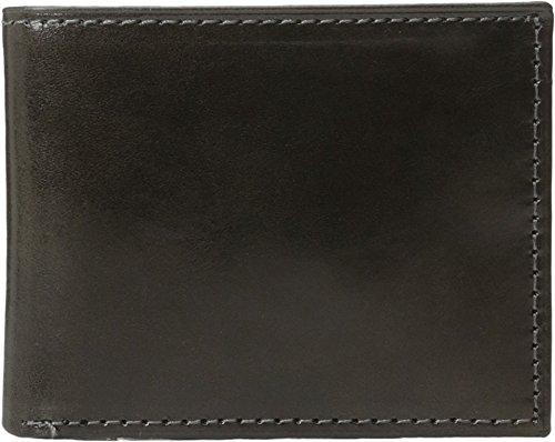 Johnston & Murphy Men's Flip Billfold Wallet Charcoal Wallet