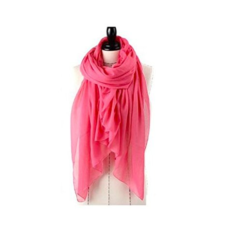 NEW Hot Fashion Style Autumn and Spring Warm Solid Color All-match Pleated Muslim Hijab Female/women 180*100cm Watermelon Red