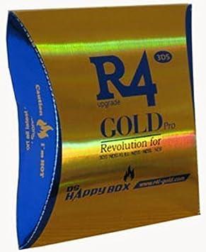 R4 SHDC Oro Pro - Tarjeta de juego: Amazon.es: Informática
