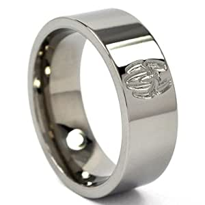 ring titanium ring comic bands jewelry
