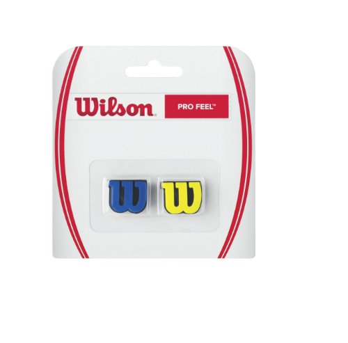 Wilson Pro Feel Vibration Dampener (Blue/Yellow)
