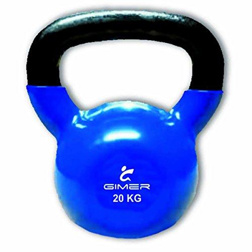 GIMER 13/035 WEIGHTS BALL STEM KETTLEBELL CROSSFIT FITNESS 20 KG