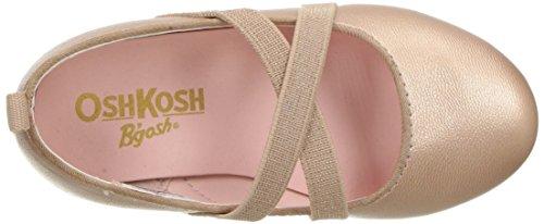 OshKosh B'Gosh Girls' Flora Ballet Flat, Rose, 5 M US Toddler - Image 8