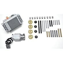 LEGO Technic 40 piece specialty lot, power functions battery box, L motor, Mindstorms, NXT, EV3 by LEGO