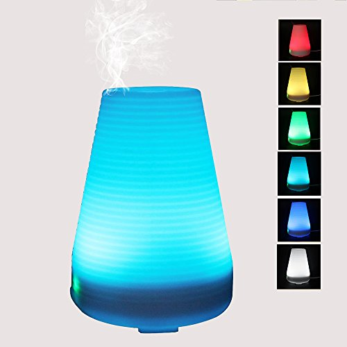 ledsniper-100ml-Essential-Oil-Diffuser-Cool-Mist-Aroma-Humidifier-with-7-Changing-Colorful-LED-Lights-Waterless-Auto-Shut-off-Function-and-Adjustable-Mist-Mode