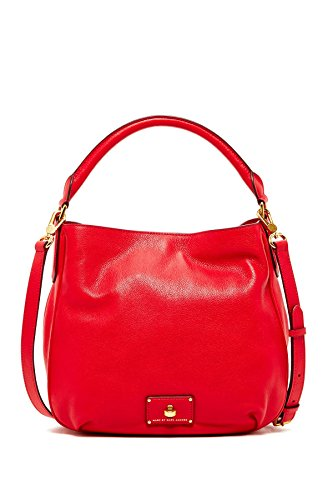 Marc by Marc Jacobs Leather Hobo (Rosey (Marc Jacobs Red Leather)