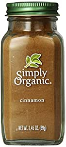 Simply Organic, Cinnamon, 2.45 oz