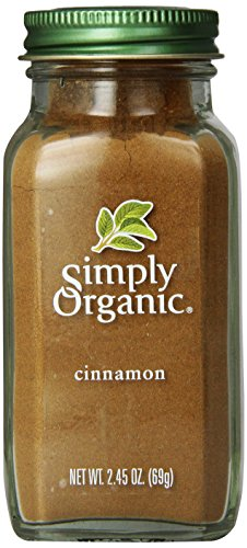 - Simply Organic, Cinnamon, 2.45 oz