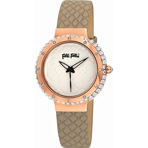 Señoras brazalete Folli Follie H4H vertical reloj 6010.1052