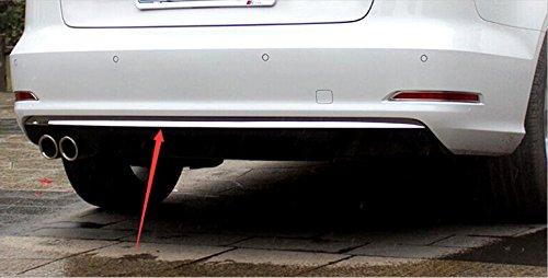 Copertura posteriore di fondo in acciaio INOX 1PCS per A3 8V berlina 2012-2018