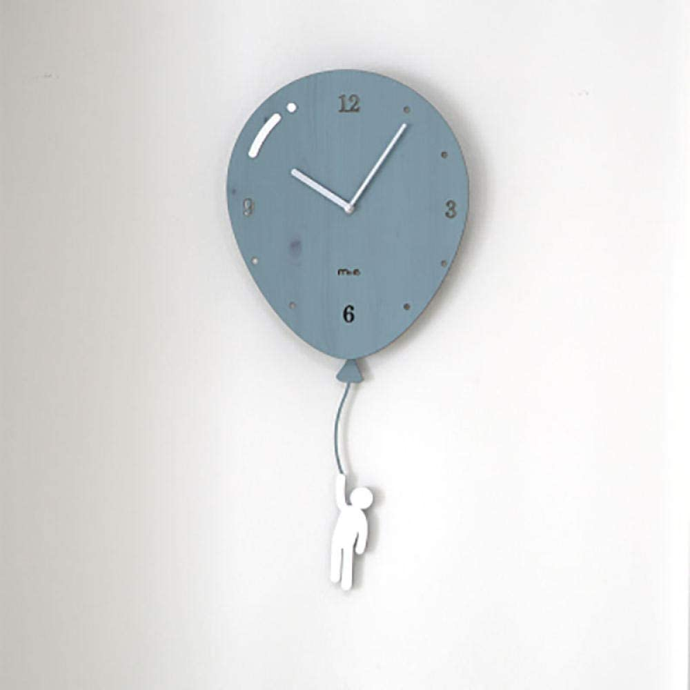 GZWSM Swing Wall Saatk Diseño Moderno Silent Saatk Mecanismo Digital Reloj Guess Mujeres Cute Hijoren S Room Saatks Reloj De Home-Style3_26X56.5Cm