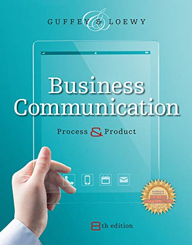 Business Communication: Process and Product (with Student Premium Website Printed Access Card)