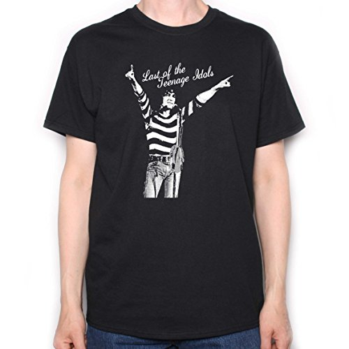 T-shirt Alex Black - Old Skool Hooligans Sensational Alex Harvey Band T Shirt - Last of The Teen Idols (XL) Black