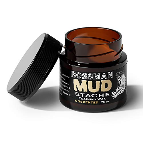 Bossman MUDstache - Mustache Training Wax, Lasts 24hrs, Unscented, No Tint. Tame, Train and Style by Bossman (Image #4)