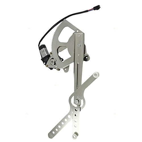 Drivers Front Power Window Lift Regulator & Motor Assembly Replacement for Chevrolet Cadillac GMC Pickup Truck 22071949