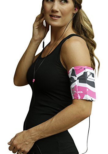 - MÜV365 Ultimate Comfort Sports Running Armband Belt for iPhone 8/7/7 Plus/6/6s, Samsung Galaxy S8/S7 and All Smartphone Models with Case Up to 7