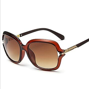 GAOCF Sonnenbrille Schatten Polarisierende Brille Persönlichkeit Holz Beine Joker Mode Sonnenbrillen Sonnenbrillen Mode Damen Mode Gesicht Sonnenbrillen , Red Dates