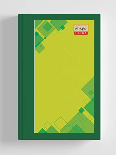 Shape Ultra Ruled Case Bound Register (17 X 27) - 288 Pages (Pack of 3)