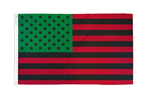 Best Flags Afro American (USA) 3x5ft Poly Flag