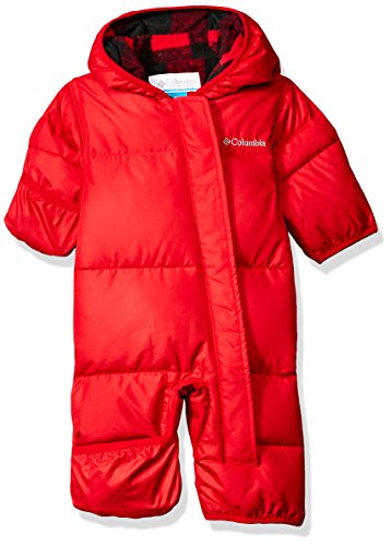 Snuggly Bunny (Columbia Baby Boys' Snuggly Bunny Bunting, Mountain Red Plaid, 18-24)