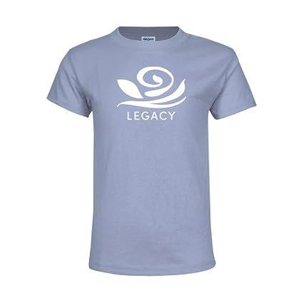 d15a585b84c95d CollegeFanGear Alpha Gamma Delta Youth Light Blue T Shirt  Legacy Official  Rose  - X