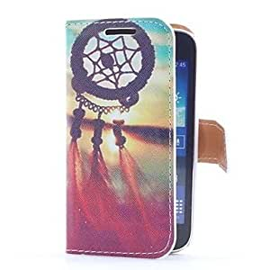 NEW Dream Catcher and Sunset Style Leather Case with Card Slot and Stand for Samsung Galaxy Ace 3 S7270/S7275 /S7272
