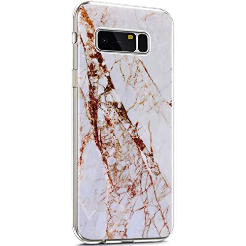Ultra Leggere Silicone Compatibile marmo Ysimee Slim 16 Chiaro Morbida Samsung 2 Custodie Note Antiurto Puro graffio Marmo Con Cover 8 Protezione E Anti Case Trasparente Tpu Sottile Galaxy aPPw7q