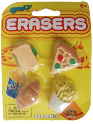 - Googly Erasers Snack Shop