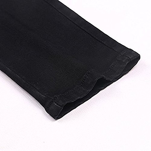 dos Pantalon Stretch glissire fermeture Pantalons Jeans Denim Jeans au Sexy Noir Pantalon haute avec Denim Straight New Femmes Denim Lady taille dcontracts Fashion tOgwq8n