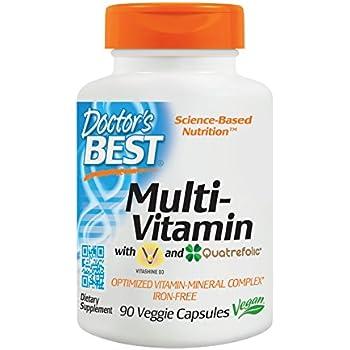 Doctor's Best Multi-Vitamin, Vegan, Gluten Free, 90 Veggie Caps