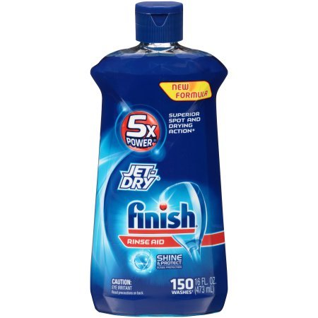Finish Jet DryF Dishwasher Rinse Aid, 16 Ounce PACK OF - Review Jet Lenses