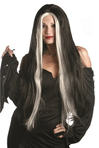 Lily Munster Character Deluxe Quality Halloween Costume Witch Wig]()