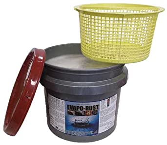 Evapo-rust 3 Gallon Pail with Dip Basket - The Original Safe Industrial Strength Rust Remover Orison ER3