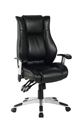 High Back Executive Leather Chair - 4