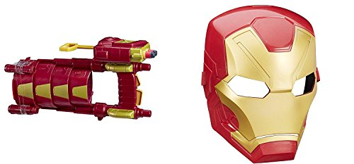 Marvel Captain America: Civil War iron man Slide Blast Armor and mask (Captain America Costume And Prime)