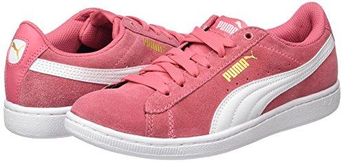 Rose Puma Para Vikky rapture white Mujer Zapatillas Rosa pUprwYq