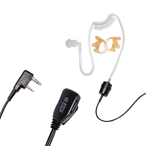 Find Cheap BTECH QHM05 Heavy-Duty Earpiece with In-line PTT & Microphone (Includes Earmolds and Earb...