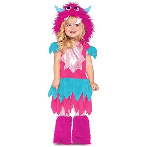 Sweetheart Monster Toddler Costume - (Toddler Sweetheart Monster Costumes)
