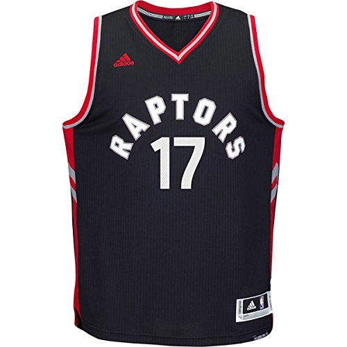 Jose Valanciunas Toranto Raptors #17 NBA Youth Black Swingman Alternate Jersey Small 8 by adidas