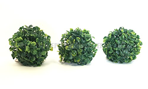 Artificial Topiary Balls With Led Lights in US - 2