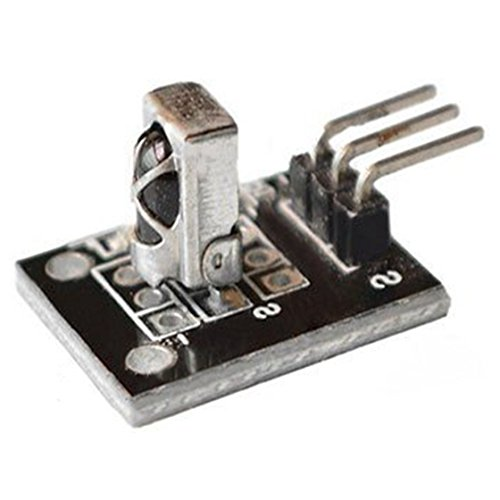 Price comparison product image SODIAL(R) 10pcs KY-022 Infrared IR Receiver Sensor Module For Arduino Smart Electronics KEYES KY022