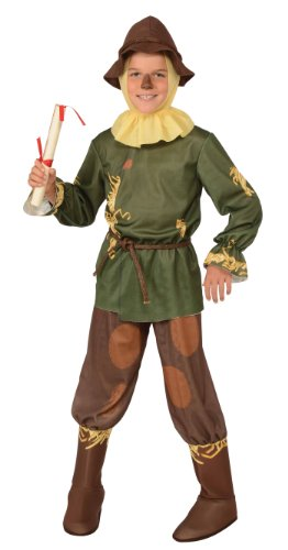 886490 Large 12-14 Child Scarecrow Wizard Of Oz Costume Newest Edition ()