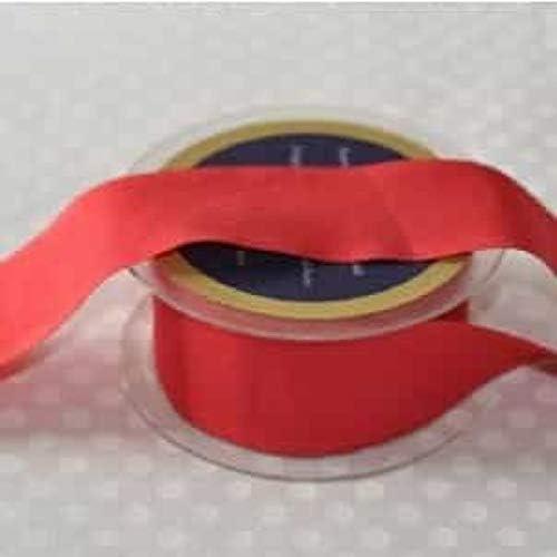 Quilten 50mm x 2.5m Length wei/ß Basteln Einfarbiges Schr/ägband zum Schneidern