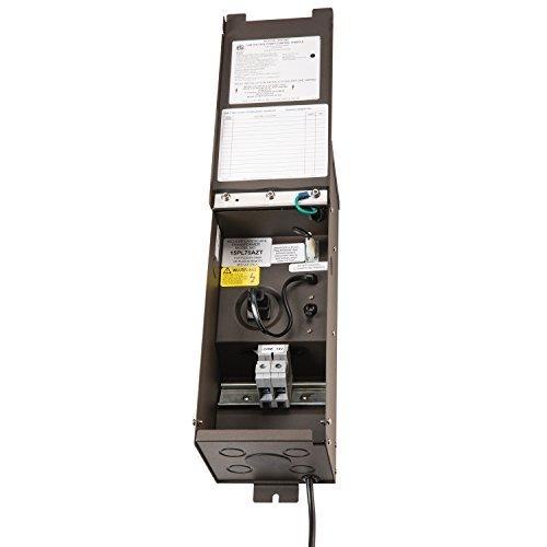 Kichler Lighting 15PL75AZT Plus Series 75W 12V-15V 80 Amp. Transformer,