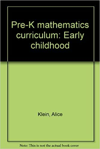Pre K Mathematics Curriculum Early Childhood Alice Klein