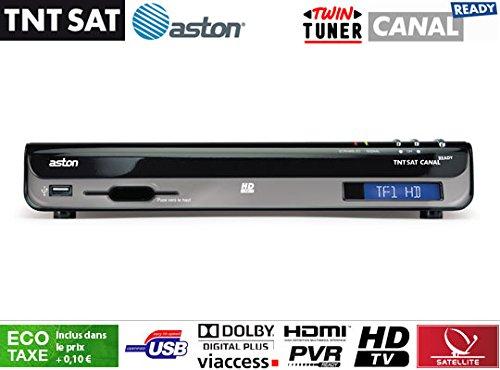 Aston Simba - Receptor HD TNT SAT: Amazon.es: Hogar