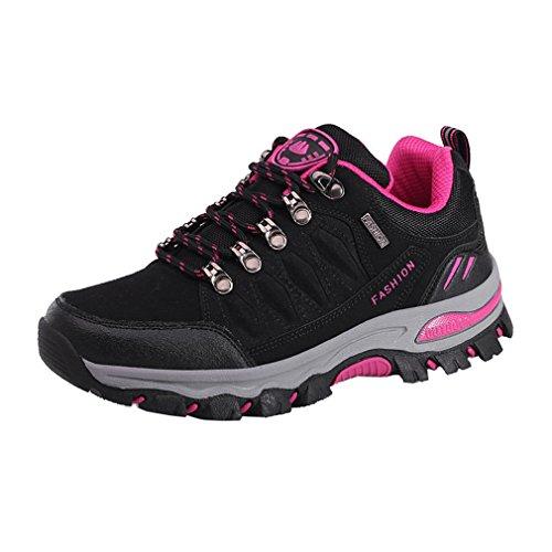 Antideslizantes De Suben Campo Que Impermeables Nera 7 a 38 44 Colores Adultos Zapatos Suben Que Asiáticos Zapatos Través Rosa Los Unisex wPEq7
