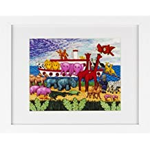 Noah's Ark - Framed Art Print