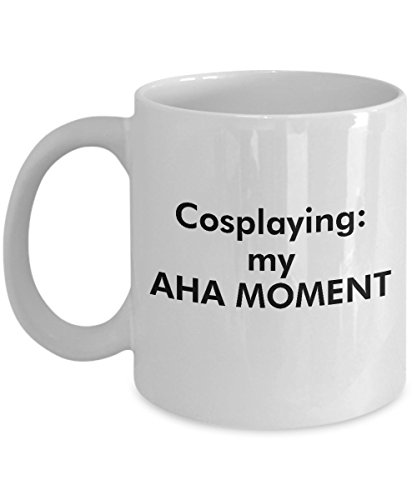 Cosplaying Mug – Clever and Silly Gift Idea - A Comical and Witty Ceramic Coffee Cup, Always a Dramatic Surprise-15oz
