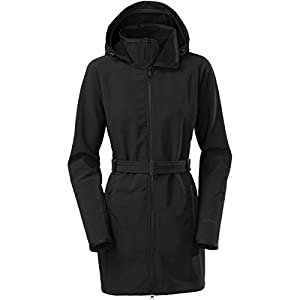 ... Coat 8533453 The North Face Womens Apex Bionic Trench TNF Black Small  ... 6b358518b